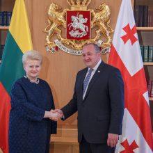 Lietuva remia Sakartvelo kelią į Europą