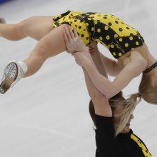Europos dailiojo čiuožimo čempionate - Rusijos porų dominavimas