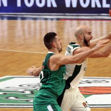 """""""Žalgirio"""" krepšininkai patiesė """"Panathinaikos"""" komandą"""