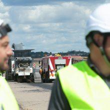 Uždarius Vilniaus oro uostą iš karto užvirė rekonstrukcijos darbai