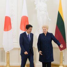 Prezidentė: gimsta naujas Baltijos šalių ir Japonijos bendradarbiavimo formatas