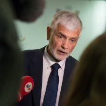Kritikos sulaukęs B. Markauskas lieka poste
