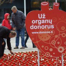 Specialistė: donorystės idėjai nereikia prievartos