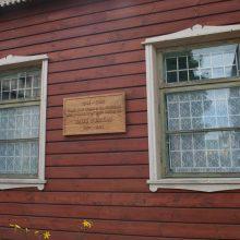 Ištikimai saugo B. Buračo atminimą Karmėlavoje