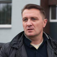 """Santykis: D.Andriuškevičius teigė, kad neturintis jokių pretenzijų, darbus atlikusiai bendrovei """"Verslo""""."""