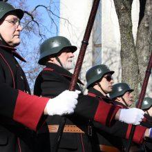 Trispalvė tautos karių kasdienybė <span style=color:red;>(išskirtinis interviu)</span>