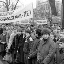 1988 m. disidentė – Vasario 16-oji Kaune <span style=color:red;>(dalyvių prisiminimai)</span>