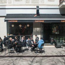 Lauko kavinių verslą Laisvės alėjoje jaukia rekonstrukcija