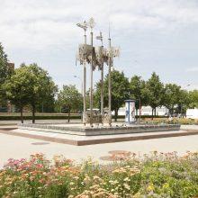 Klaipėdos fontanų čiurlenimą sutrikdė gedimai