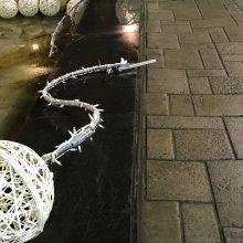 Kauniečiai džiaugiasi: Laisvės alėjos fontane – dar nematytos dekoracijos