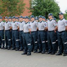 Lietuvos policijos mokykloje naujus mokslo metus pradėjo 129 kursantai