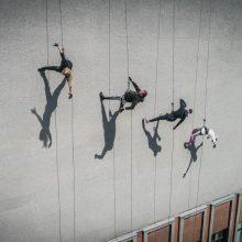 A. Liškauskas šoks ant teatro fasado