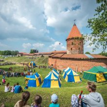"""""""Hanzos dienos 2018"""": žaliai balto miesto šventė"""