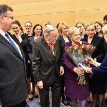 "V. Landsbergiui įteikta ""Lietuvos diplomatijos žvaigždė"""