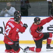 """Pasaulio čempionato antroji diena: NHL žaidėjų šou """"Žalgirio"""" arenoje"""