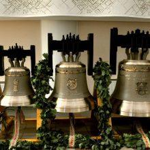 Bendruomenės dovana bažnyčiai – trys varpai