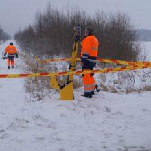 Lietuva pradeda atstatyti geležinkelį į Latviją