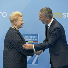 D. Grybauskaitė: NATO – dar greitesnis ir geriau pasirengęs