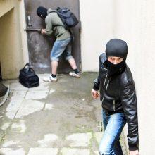 Šventinę dieną Kaune į namus veržėsi plėšikai