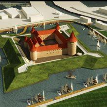 Uostamiestyje planuojama atstatyti pilies bokštą