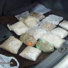 Vilniaus pareigūnai sulaikė daugiau kaip 12 kg romų taborui skirto heroino