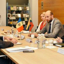 Viceministras: Lietuva pasirengusi palaikyti Moldovą jos reformų kelyje