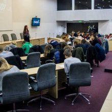 400 Lietuvos studentų dalyvavo akademiniame išbandyme
