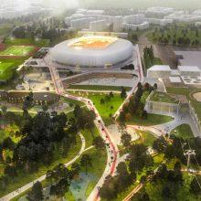 Nacionalinio stadiono komisija atmetė iškritusio dalyvio pretenziją