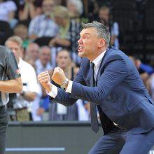 """LKL finalas: """"Žalgiris"""" įveikė """"Lietuvos rytą"""" ir serijoje pirmauja 2:1"""
