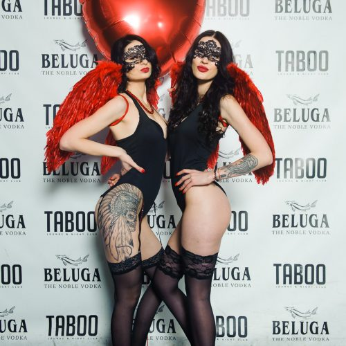 """Taboo"" klubo erdvės virto meilės miestu  © Ievos Jonelytės nuotr."