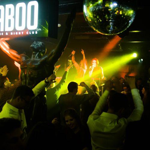 """""""Taboo"""" šokių aikštelėje buvo karšta  © I. Jonelytės nuotr."""