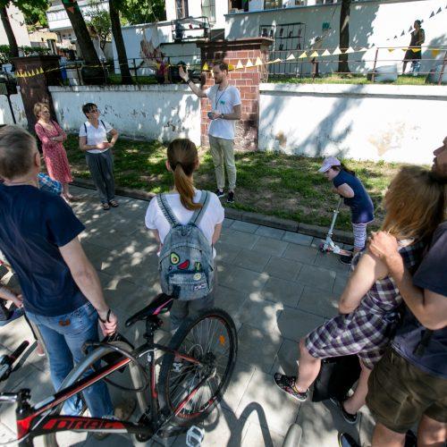 Švenčiama V.Putvinskio gatvės diena