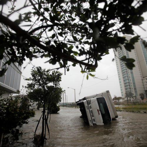 """Uraganas """"Irma"""" Floridoje"""