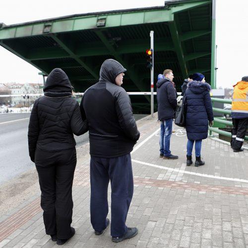 Pakeltas Pilies tiltas  © Vytauto Petriko nuotr.