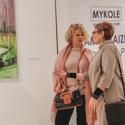 Atidarytos parodos parodų rūmuose