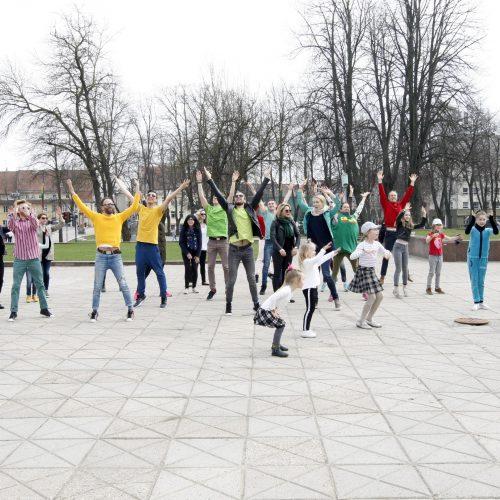 D. Bakėjus suvienijo uostamiesčio šokio aistruolius  © Vytauto Liaudanskio nuotr.