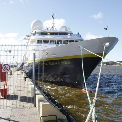 Kruizinis laivas Klaipėdoje