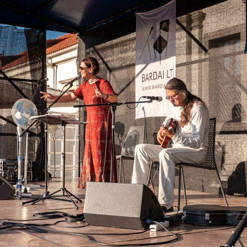 Pažaislio liepų alėjos vakarai | Olegas Ditkovskis ir Neda  © Eitvydo Kinaičio nuotr.