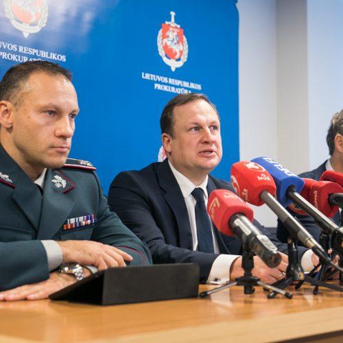 Spaudos konferencija dėl A. Paleckio suėmimo  © Irmanto Gelūno / Fotobanko nuotr.