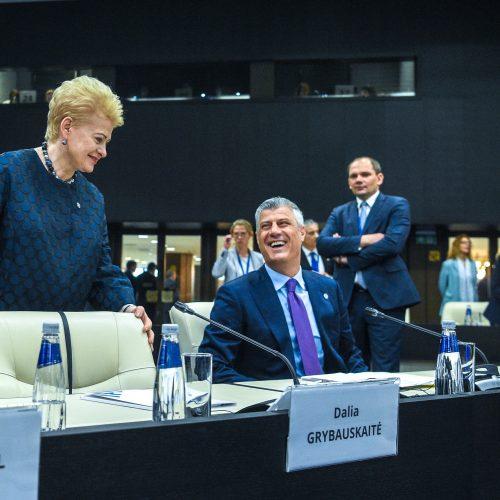 ES ir Balkanų šalių vadovų susitikimas
