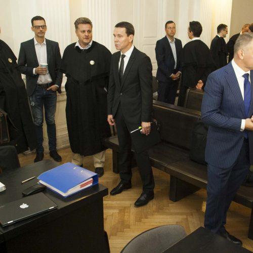 """""""MG Baltic"""" korupcijos bylos posėdis  © D. Labučio / ELTOS nuotr."""