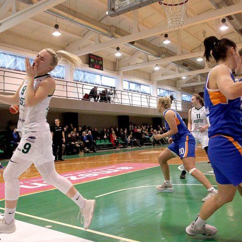 """Moterų lyga: """"Aistės-LSMU"""" – """"Vilkmergė"""" 70:42  © Evaldo Šemioto nuotr."""