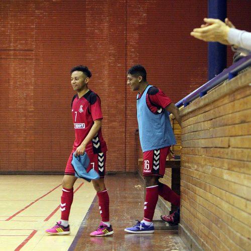 "Futsalo A lyga: ""Vytis"" – Gargždų SC 7:2  © Evaldo Šemioto nuotr."
