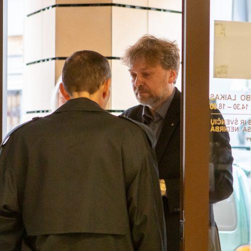 Atsisveikinimas su aktoriumi A. Storpirščiu  © P. Peleckio, G. Skaraitienė (BFL) nuotr.