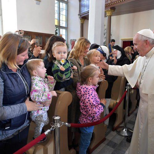 Popiežiaus vizitas Estijoje  © Scanpix nuotr.