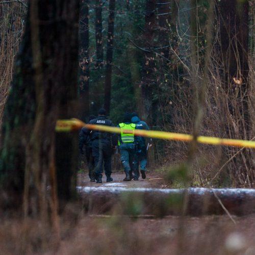 Dėl sprogmens Kleboniškio miške – tarnybų sujudimas