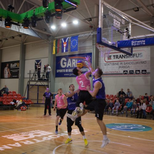 Lietuvos 3x3 krepšinio čempionate Garliavoje – ir Kauno rajono mėnesio žmogaus apdovanojimas  © Laimio Steponavičiaus nuotr.
