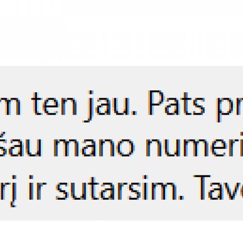Sukčiaus sulaikymo operacija Kaune  © DMN nuotr.