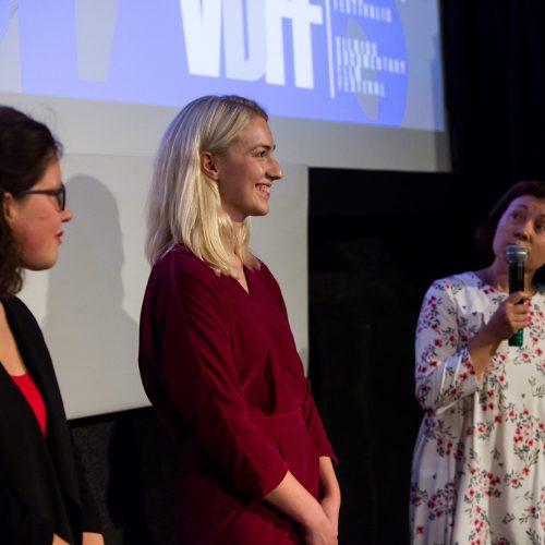 Vilniaus dokumentinių filmų festivalio atidarymas  © G.Skaraitienės/Fotobankas nuotr.