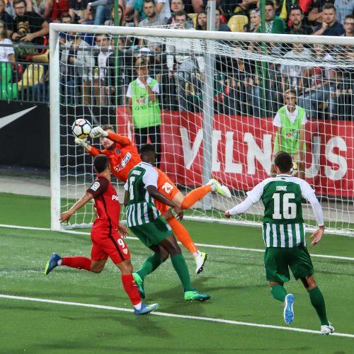 "Europos lygos atranka: ""Žalgiris"" – ""Sevilla"" 0:5"